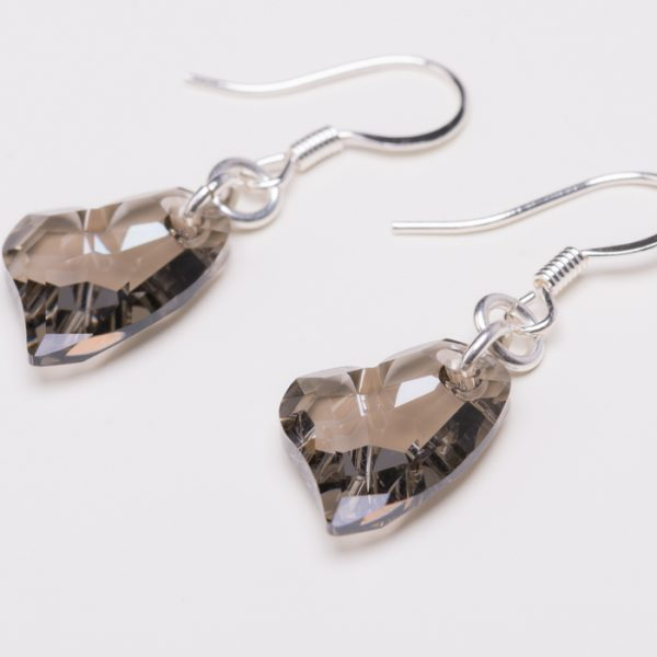 Product Photography – Heart Earrings
